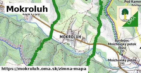ikona Zimná mapa zimna-mapa  mokroluh