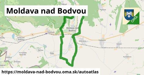 ikona Mapa autoatlas  moldava-nad-bodvou