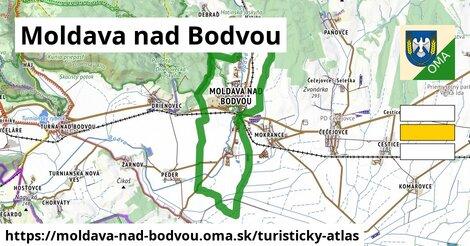 ikona Turistická mapa turisticky-atlas  moldava-nad-bodvou