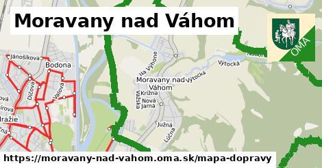 ikona Mapa dopravy mapa-dopravy v moravany-nad-vahom