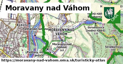 ikona Turistická mapa turisticky-atlas v moravany-nad-vahom