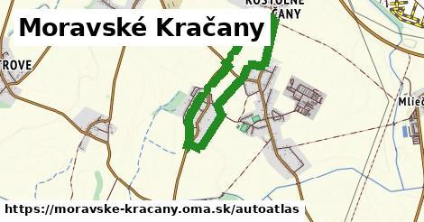 ikona Mapa autoatlas  moravske-kracany