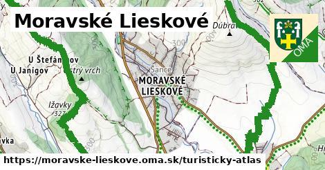 ikona Turistická mapa turisticky-atlas  moravske-lieskove
