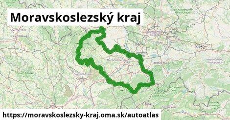 ikona Mapa autoatlas  moravskoslezsky-kraj