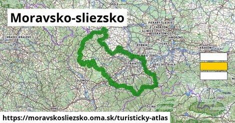 ikona Turistická mapa turisticky-atlas  moravskosliezsko