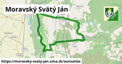 ikona Mapa autoatlas  moravsky-svaty-jan