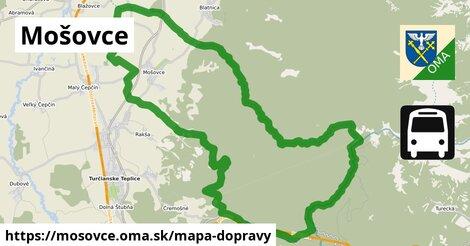 ikona Mapa dopravy mapa-dopravy  mosovce