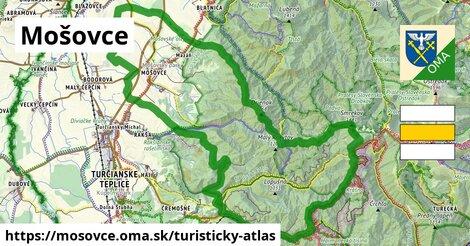 ikona Turistická mapa turisticky-atlas  mosovce