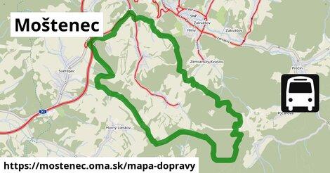 ikona Mapa dopravy mapa-dopravy  mostenec