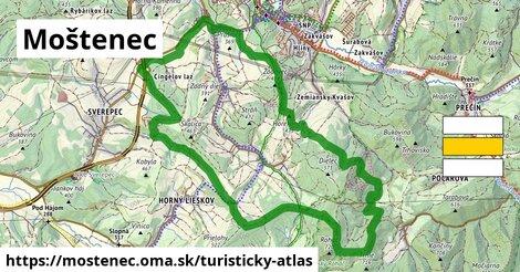 ikona Turistická mapa turisticky-atlas  mostenec