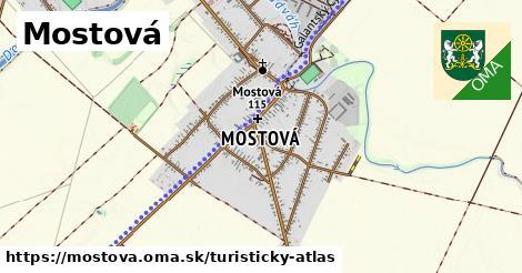 ikona Turistická mapa turisticky-atlas  mostova