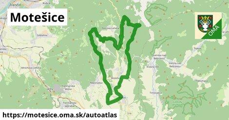 ikona Mapa autoatlas  motesice