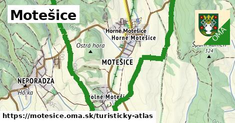ikona Turistická mapa turisticky-atlas  motesice