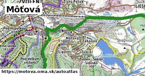 ikona Mapa autoatlas  motova