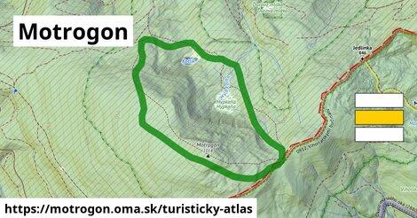ikona Turistická mapa turisticky-atlas  motrogon