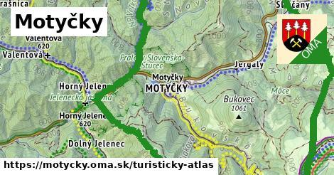 ikona Turistická mapa turisticky-atlas v motycky