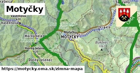 ikona Zimná mapa zimna-mapa v motycky