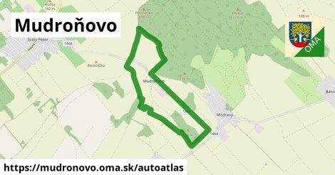 ikona Mapa autoatlas  mudronovo