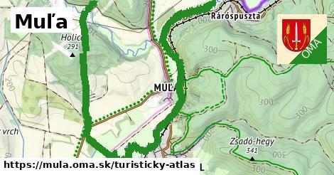 ikona Turistická mapa turisticky-atlas  mula