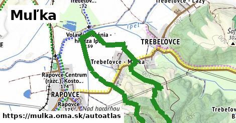 ikona Mapa autoatlas  mulka
