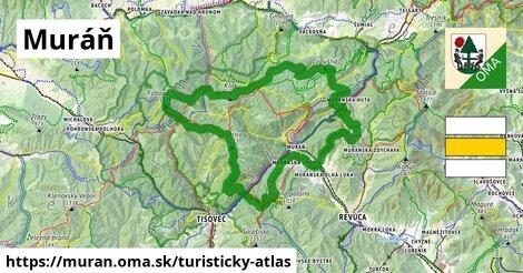 ikona Muráň: 114km trás turisticky-atlas  muran