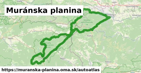 ikona Mapa autoatlas  muranska-planina