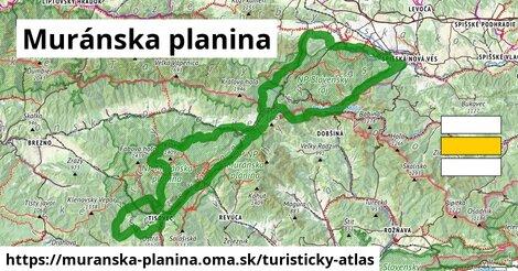 ikona Turistická mapa turisticky-atlas  muranska-planina
