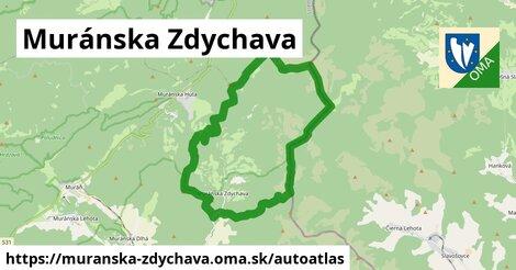 ikona Mapa autoatlas  muranska-zdychava