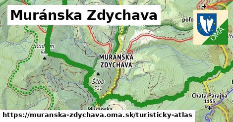 ikona Turistická mapa turisticky-atlas  muranska-zdychava