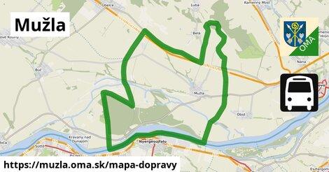 ikona Mapa dopravy mapa-dopravy  muzla