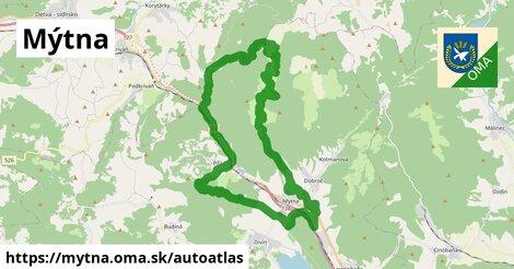 ikona Mapa autoatlas  mytna