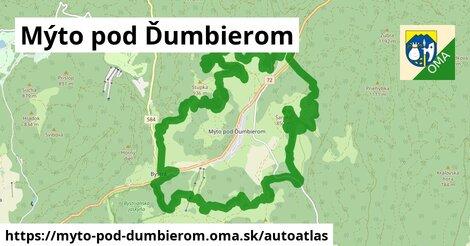ikona Mapa autoatlas  myto-pod-dumbierom