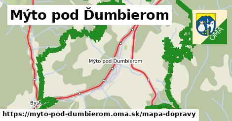 ikona Mapa dopravy mapa-dopravy  myto-pod-dumbierom