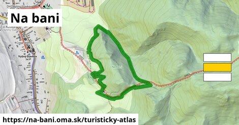 ikona Turistická mapa turisticky-atlas  na-bani