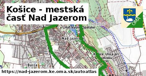 ikona Mapa autoatlas  nad-jazerom.ke