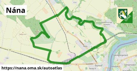 ikona Mapa autoatlas  nana