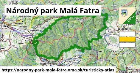 ikona Turistická mapa turisticky-atlas  narodny-park-mala-fatra
