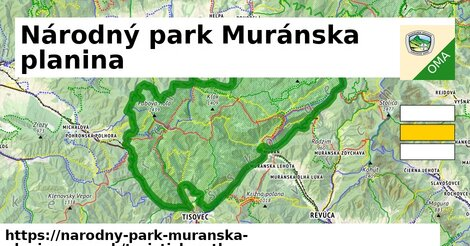 ikona Turistická mapa turisticky-atlas  narodny-park-muranska-planina