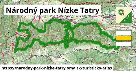 ikona Turistická mapa turisticky-atlas  narodny-park-nizke-tatry