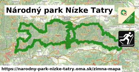 ikona Zimná mapa zimna-mapa  narodny-park-nizke-tatry