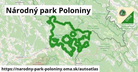 ikona Mapa autoatlas  narodny-park-poloniny