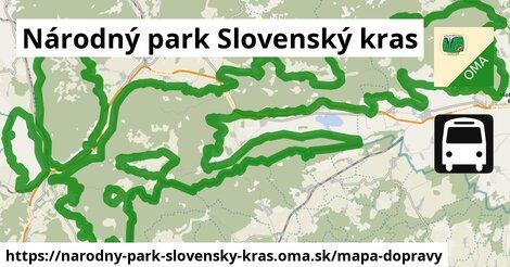 ikona Mapa dopravy mapa-dopravy  narodny-park-slovensky-kras