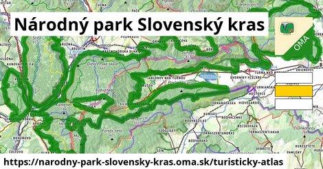 ikona Turistická mapa turisticky-atlas  narodny-park-slovensky-kras