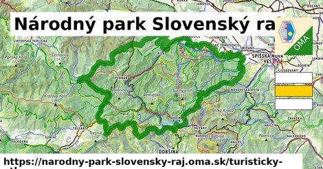 ikona Turistická mapa turisticky-atlas  narodny-park-slovensky-raj