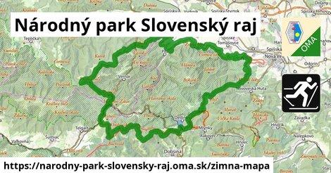 ikona Zimná mapa zimna-mapa  narodny-park-slovensky-raj