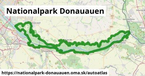 ikona Mapa autoatlas  nationalpark-donauauen