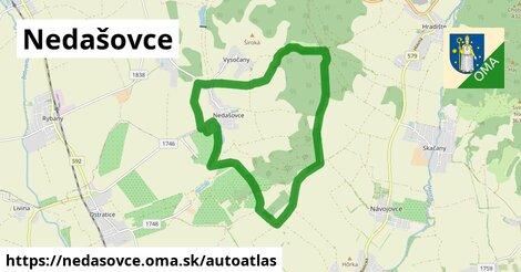 ikona Mapa autoatlas  nedasovce