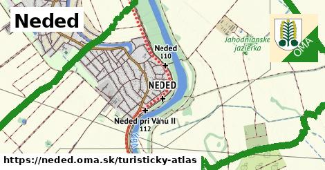 ikona Neded: 6,2 km trás turisticky-atlas  neded