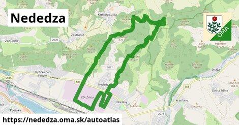 ikona Mapa autoatlas  nededza