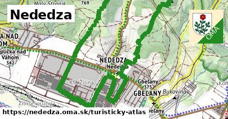 ikona Turistická mapa turisticky-atlas  nededza